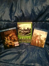 """""""The Hobbit"""" Paperback novel and 2 blu-ray DVDs!  St. Catharines, L2S 3M2"""