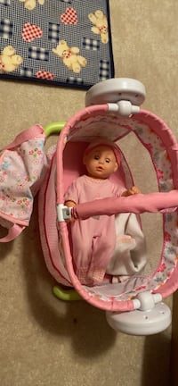 Doll and bassinet Centreville, 20121