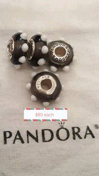 $85 each - Retired HTF Pandora Spotted Charms Toronto, M5R 1A9