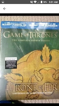 game of thrones blu-ray Surrey, V4N 5T9