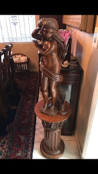 Hand carved Wooden Statue of Naked Woman Burbank, 91506
