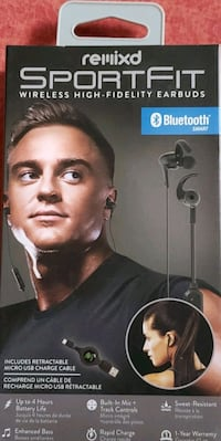 Bluetooth sport fit high fidelity earbuds