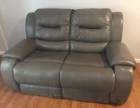 Grey leather sofa  Rock Hill