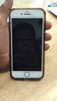 silver iPhone 6 with black case Toronto, M1P 2P7