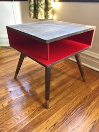 Midcentury Record Table / Side Table / Nightstand
