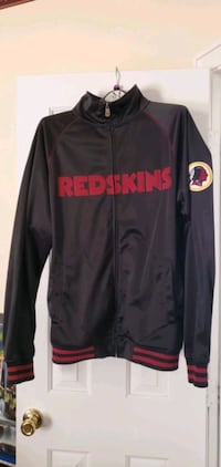 Authentic Large NFL Redskins Track Warmup Jacket Landover, 20785