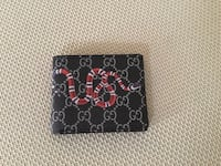 "New black GUCCI ""Snake"" wallet (4 pictures) Ottawa, K1T 0K4"