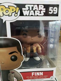 Pop ! Star Wars Han Solo vinyl figure Henderson, 89011
