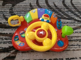 Electronic driving toy