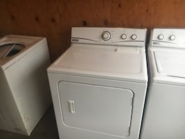 Matching set Maytag top load washer and dryer