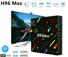 H96 MAX ANDROID TV BOX