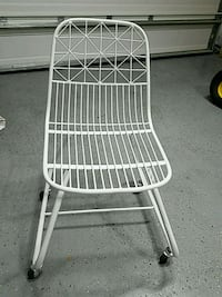 Small White rolling chair Auburndale, 33823