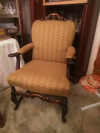 Antique mahogany chair.  Pineville