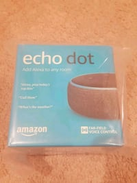 New! Echo dot 3rd gen Herndon, 20170