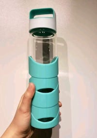 Turquoise Glass Waterbottle Toronto, M5B 2H9