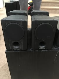 Kenwood surround speaker system