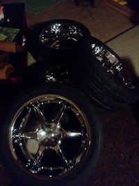 20inch rims and tires in very good condition alrea Martinsburg, 25405
