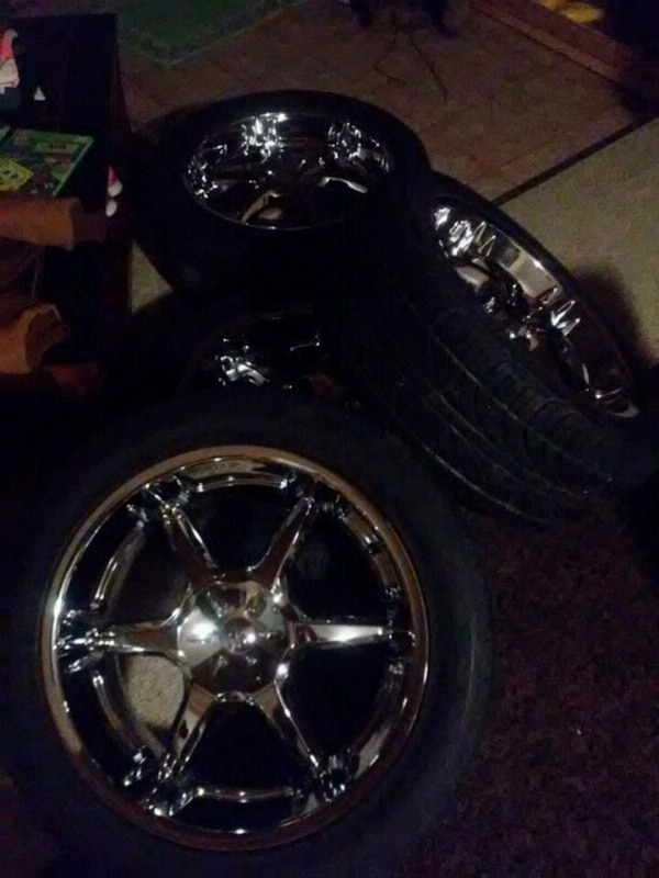 20inch rims and tires in very good condition alrea