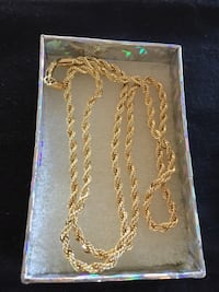 NEW FASHION POPULAR GENUINE JEWELRY IN YELLOW GOLD FILLED MENS OR WOMENS CHAIN. Sparks, 89441