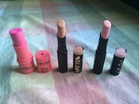 Nyx, Matte, and L.A. Girls lipsticks Niagara Falls, L2E 4X8