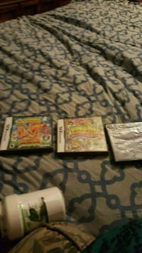 Are 3 games used all 3 x 30 Nintendo DS Bakersfield, 93307