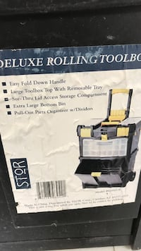 deluxe rolling toolbox box