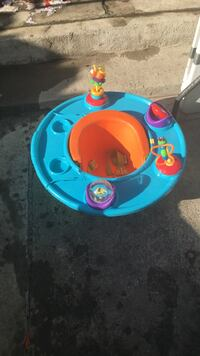 Baby's blue-and-orange activity saucer Watsonville, 95019