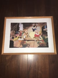 Disney 1994 Snow White and the Seven Dwarfs Exclusive Commemorative Lithograph Richmond Hill, L4E 4E8