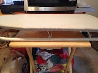 gray clothes ironing board 2049 mi