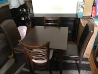 LOWER PRICE Dining table with 4 chairs