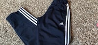 black and white Adidas shorts