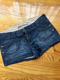 Dark Blue Denim Shorts - Size 5/6 Vancouver