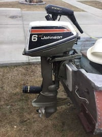 grey Johnson outboard motor Fort Saskatchewan, T8L 0C9