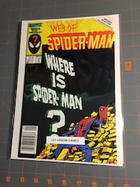 Web of Spider-Man 18 comic Halton Hills, L7J