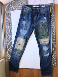 Guess 'Military Patched' Jeans Burke, 22015