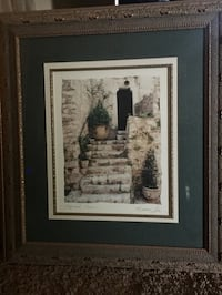 Two framed paintings Ballwin, 63021