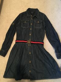 Polo Ralph Lauren Girls Jean dress - size 14 girls Burnaby, V5G 1G1