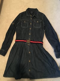 Polo Ralph Lauren Girls Jean dress - size 14 girls
