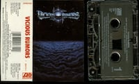 Vicious Rumors cassette S/T Debut 1990 Atlantic Records Oklahoma City