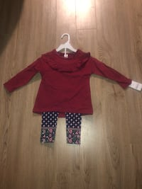 Brand new babygirl outfit size 2T Mississauga, L5B 1P2