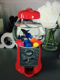 Gumball Machine Fish Bowl Edmonton, T6K 4E1