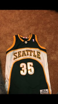 Kevin Durant Seattle Sonics jersey New Orleans, 70129
