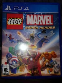 Lego Marvel Super Heroes PS4 game case Lula, 30554