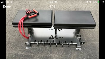 Alex Kovalev Workout Exercise Bench+Bands+DVD Retail $899 New in Box