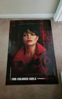 Janet Jackson Movie-FOR COLORED GIRLS Movie Poster Sandy Springs, 30328