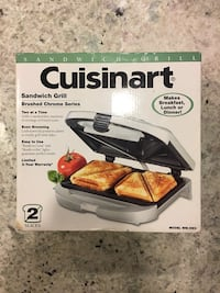 Cuisinart Sandwich Grill (Never Been Used) Bristow, 20136