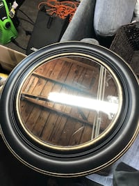 Round brown mirror Tacoma, 98409