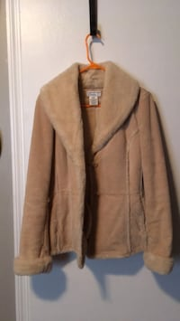 swede and faux fur Jacket Nicholasville, 40356