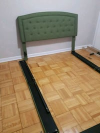 Queen size bed frame - must go Toronto, M6S 3J5
