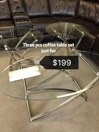 Brand new 3 Pcs coffee table set  Norcross